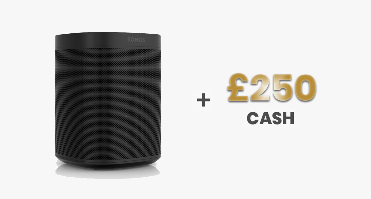 Sonos One and £250