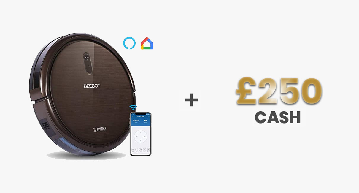 Robot Vacuum and £250