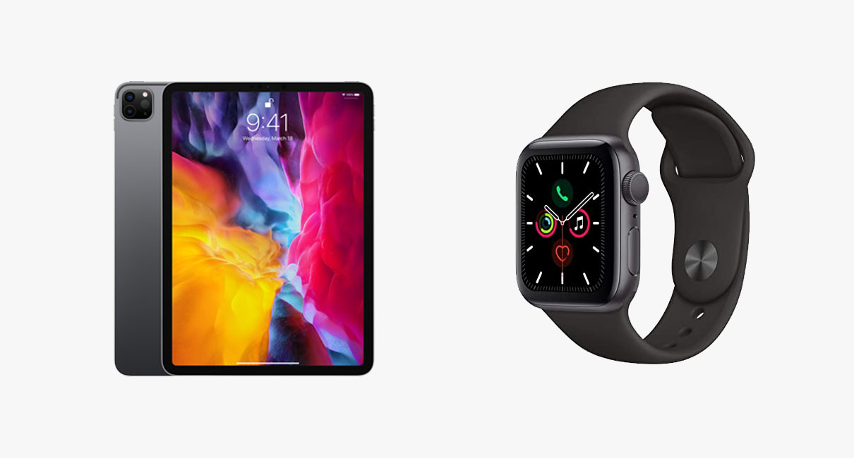"Ipad Pro 11"" and Apple Watch 5 Series"