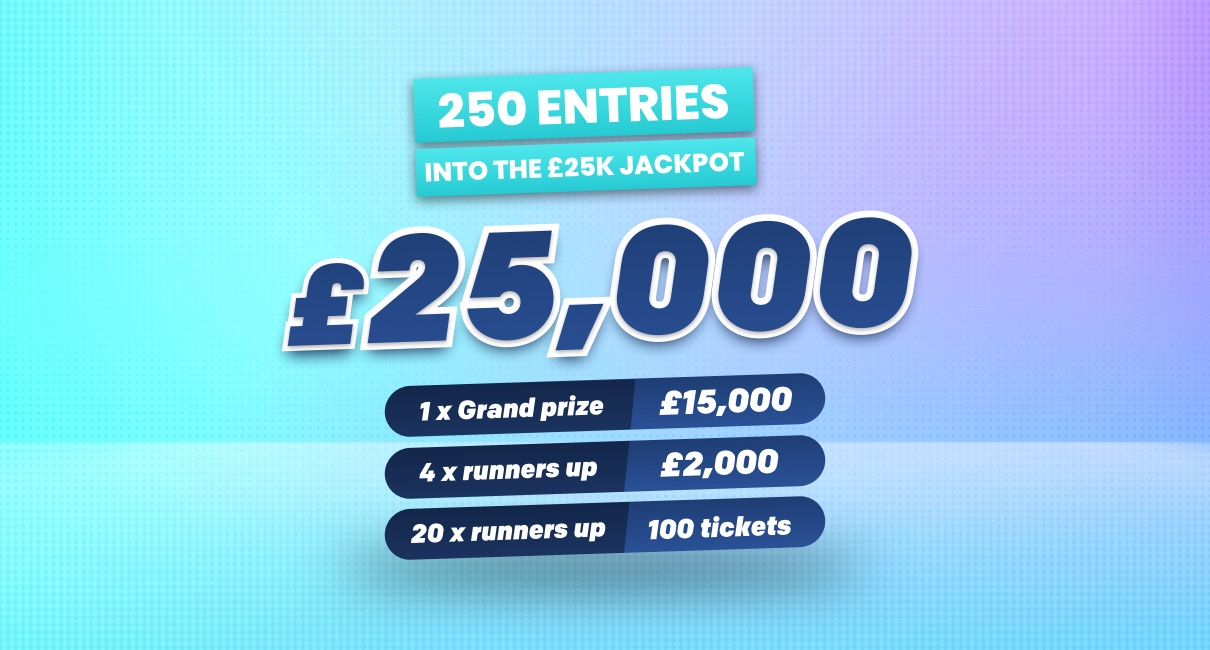 £25K Entries