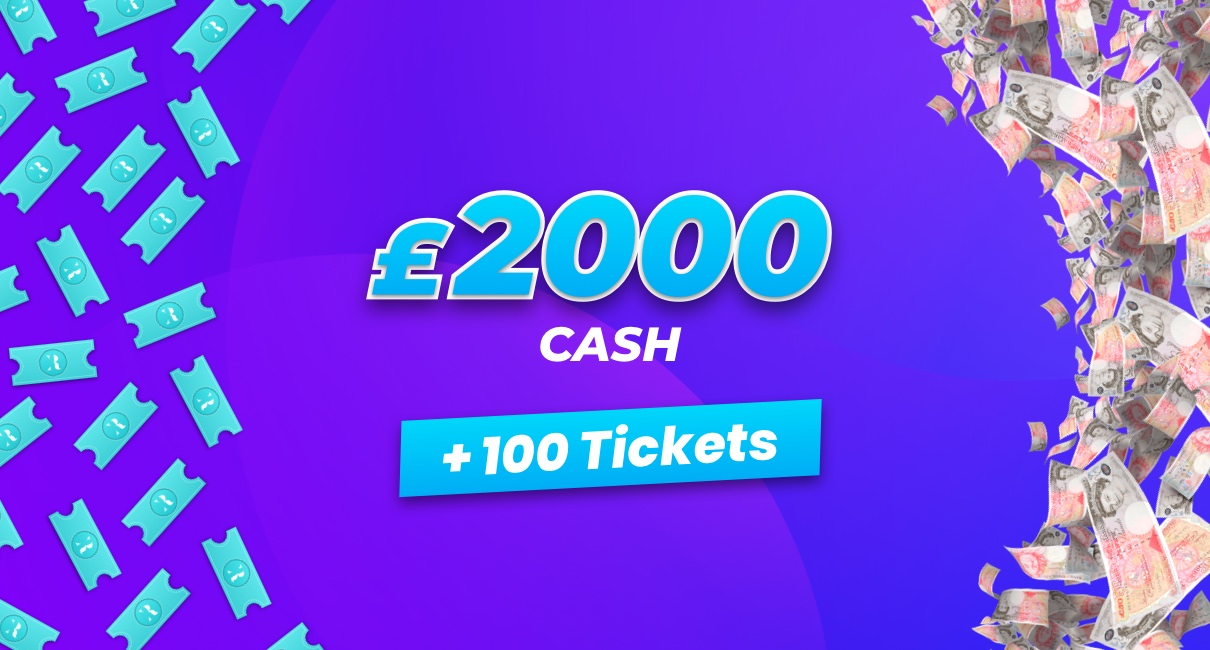 £2000 and 100 tickets