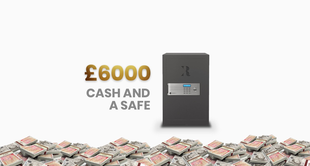 Cash and safe