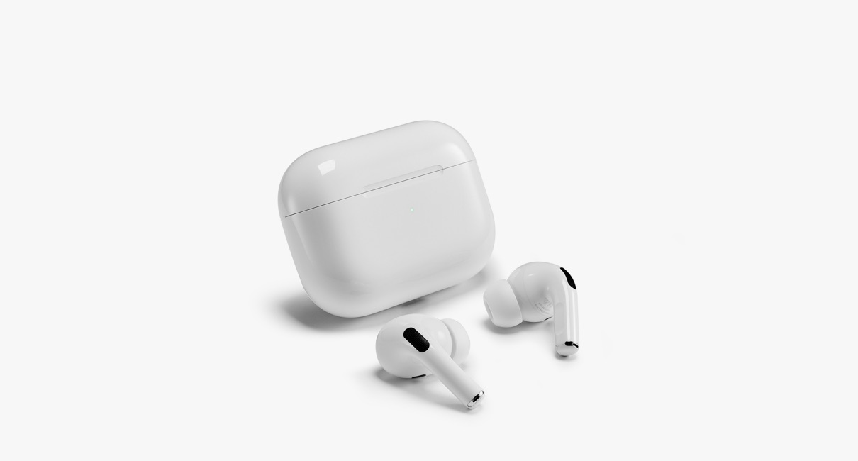 Apple AirPods Pro out of case