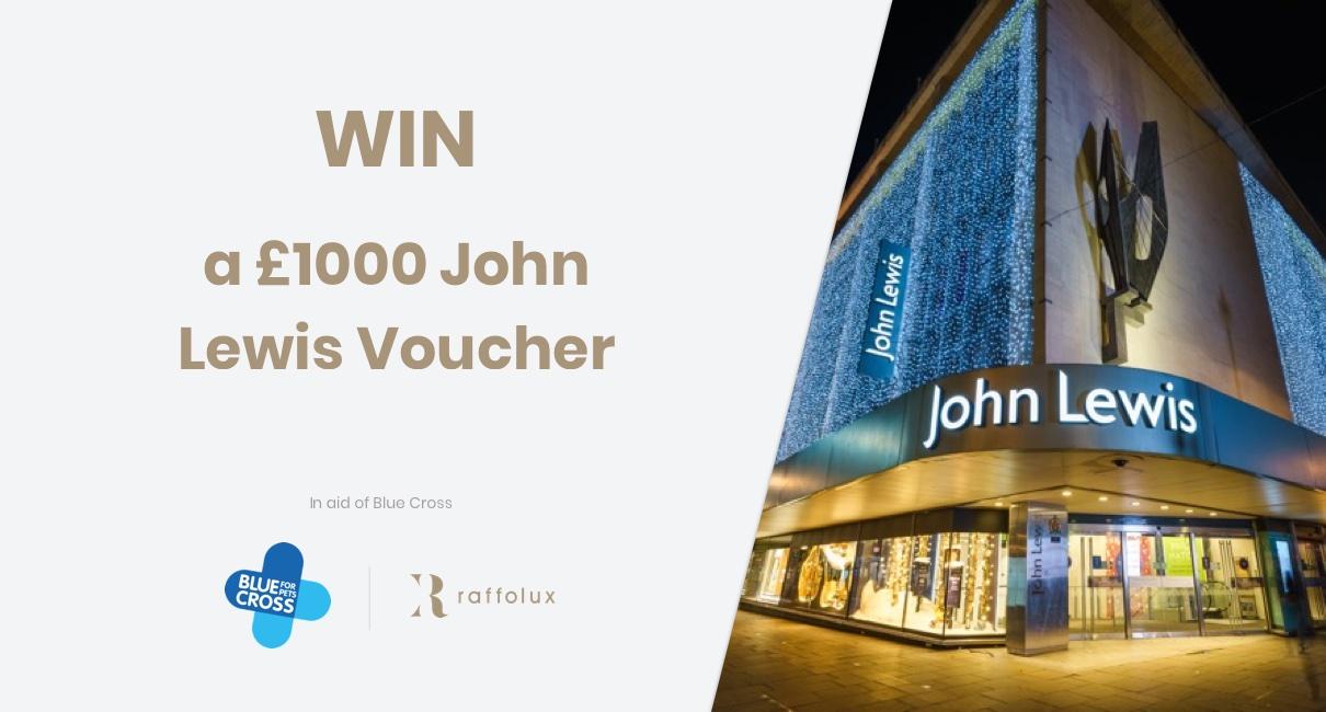 1000 John Lewis gift card