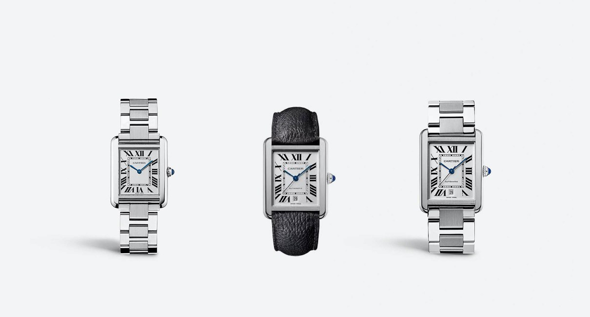His or Hers Cartier watch