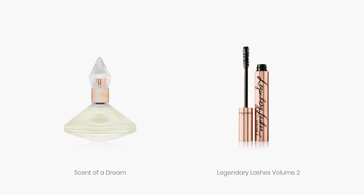 Charlotte Tilbury Scent of a Dream and Legendary Lashes Volume 2