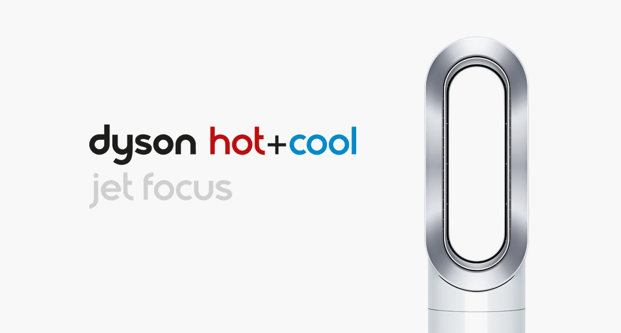 Dyson AM09 Hot and Cool Fan Heater