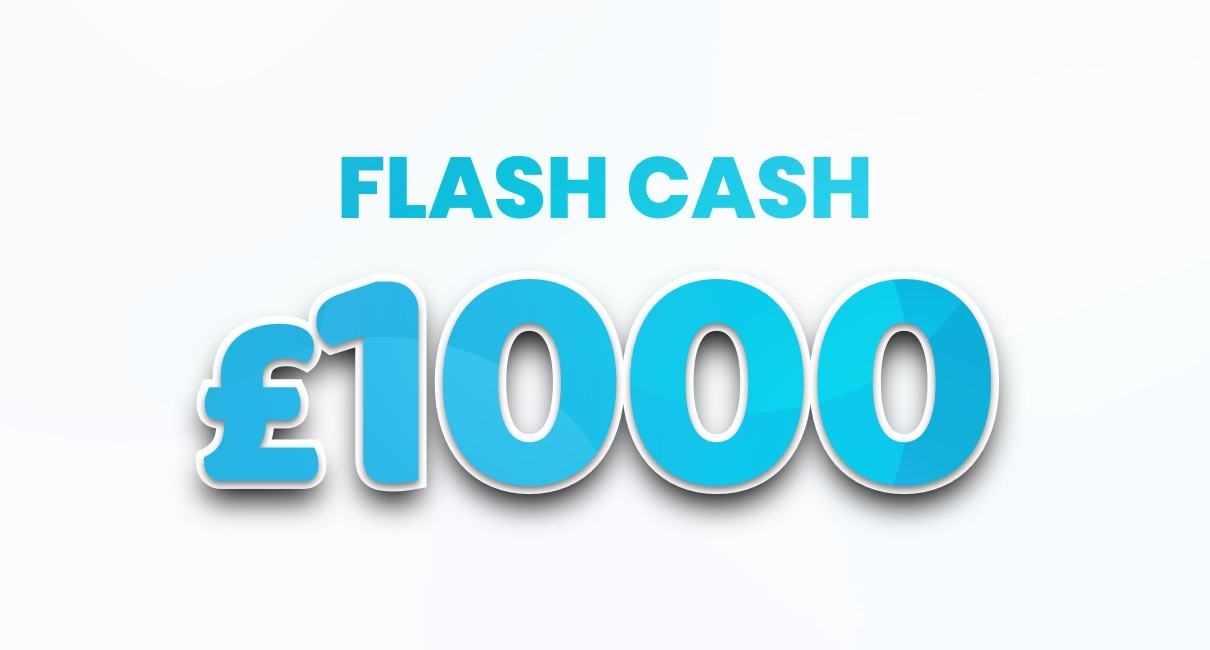 Win £1000 in cash