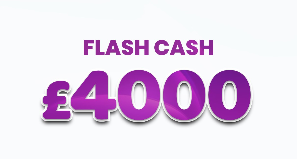 Win £4000 in cash