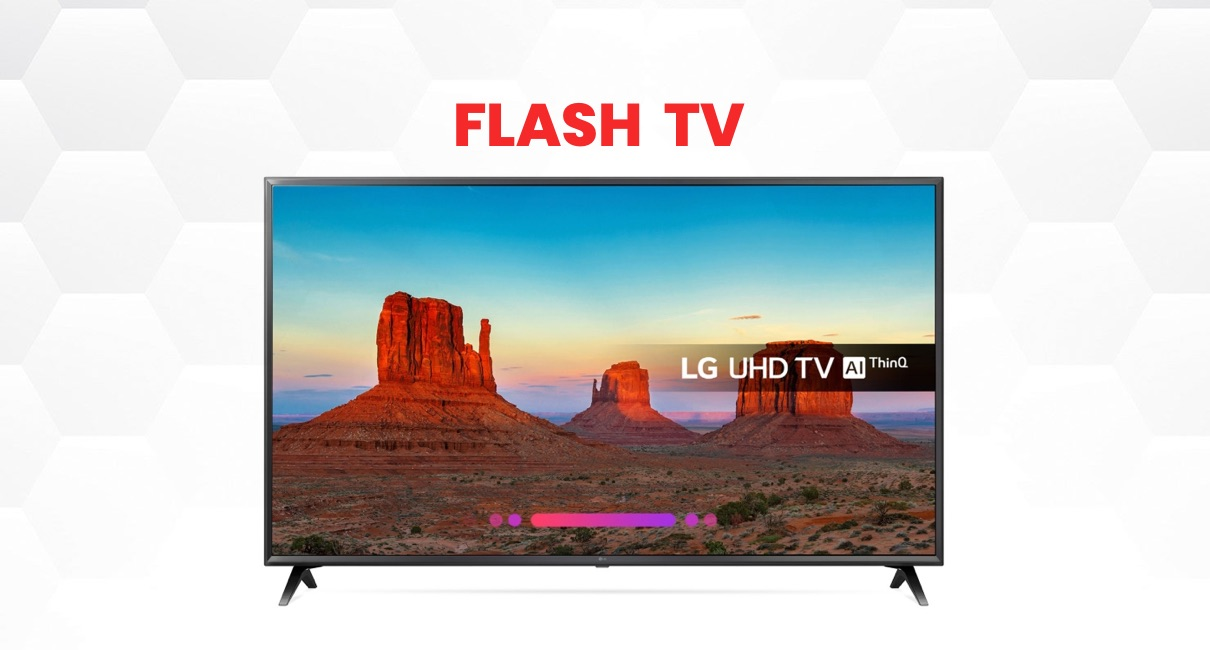 "Beautiful LG 65"" 4K Smart TV"