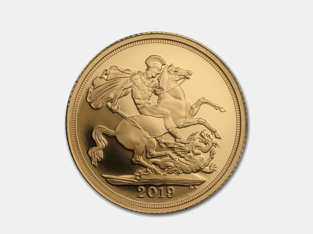 22-Carat Gold Bullion Sovereign