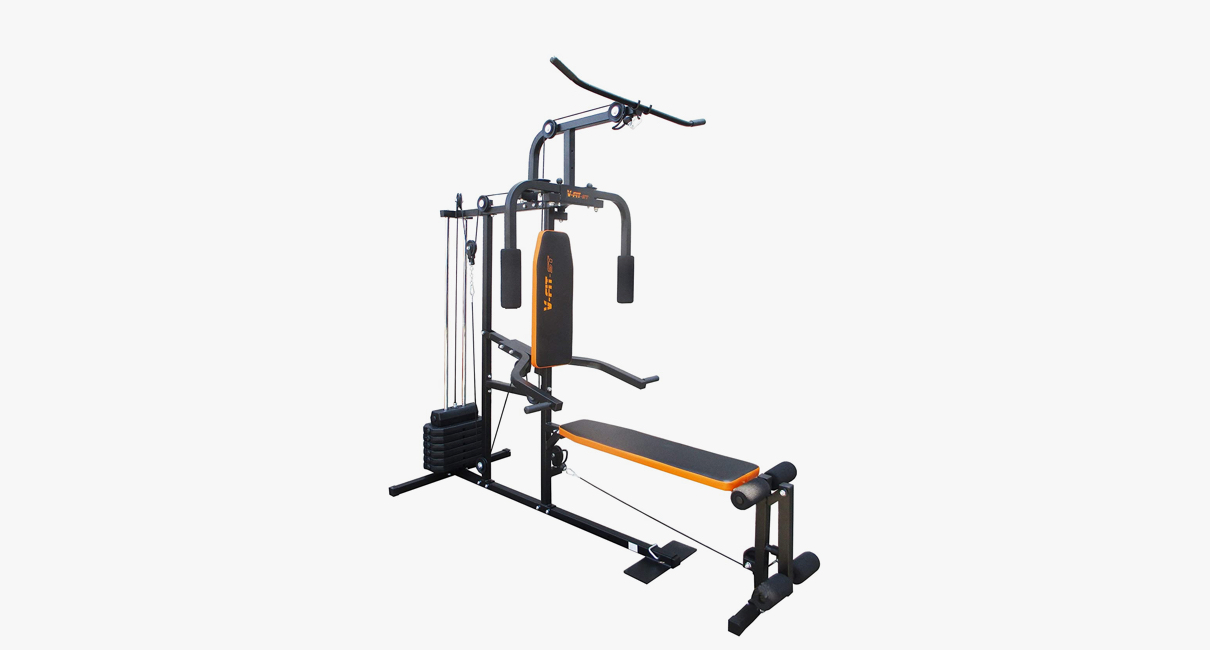Herculean Cobra Lay Flat Home Gym from V-fit