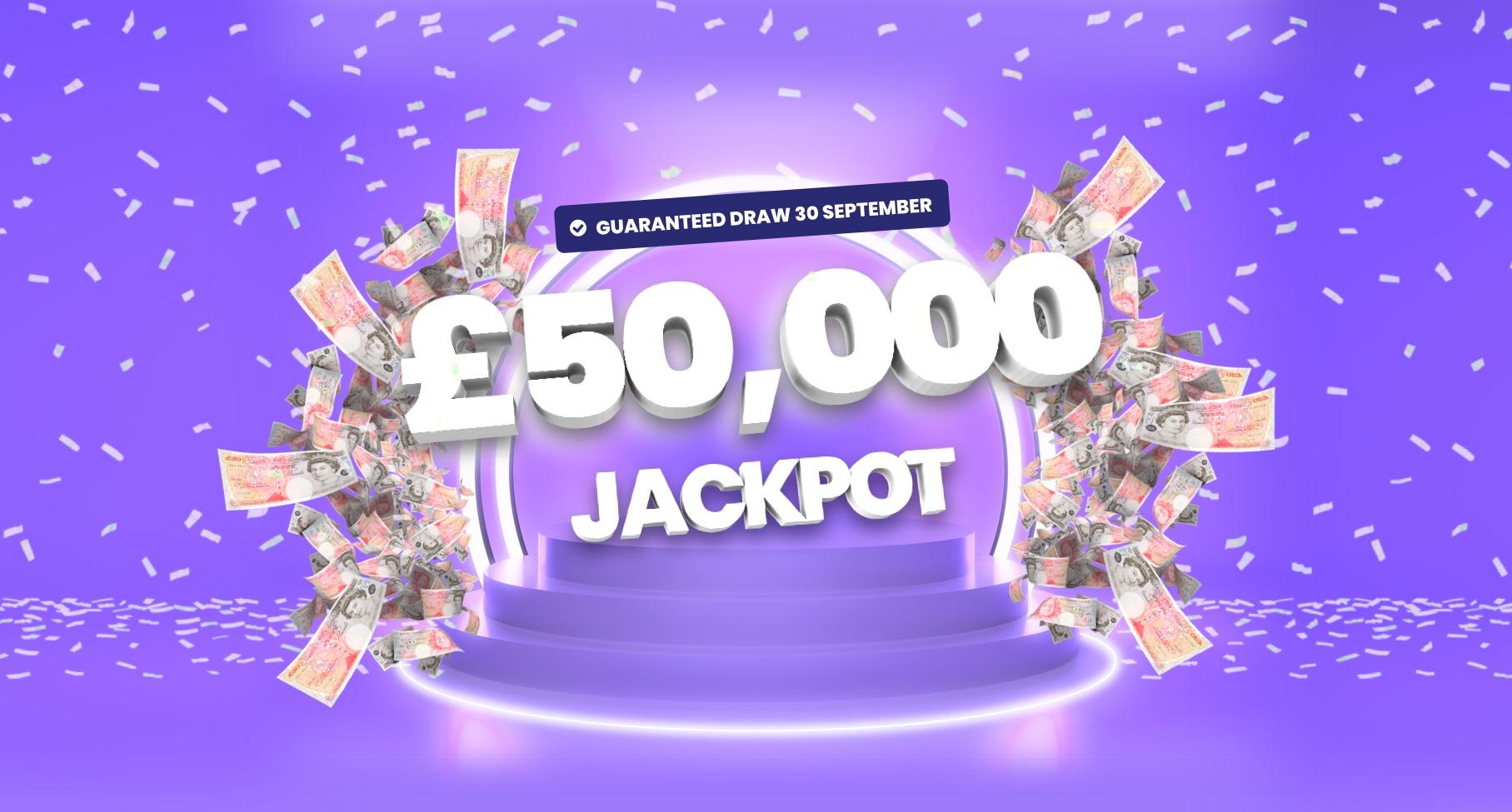 The Raffolux 50K Jackpot