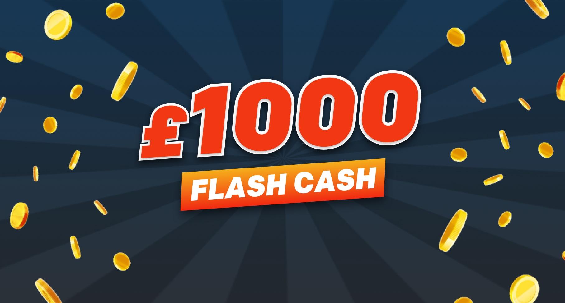Win £1000 in cash
