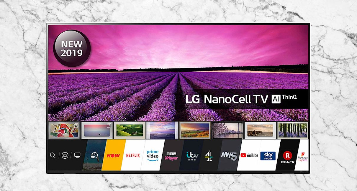 "Beautiful LG 65"" 4K Smart TV"