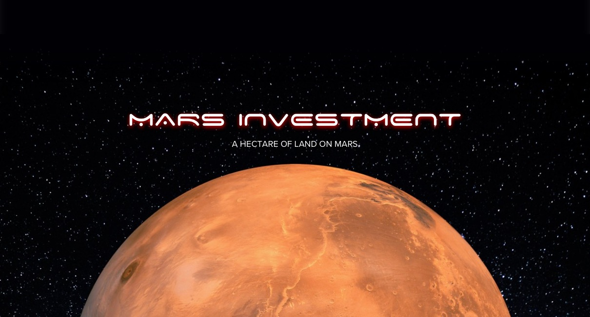 Hectare of land on Mars