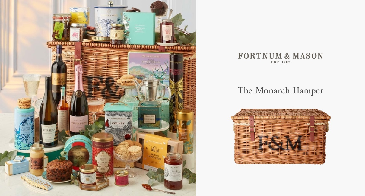 Fortnum and Mason Monarch wicker hamper