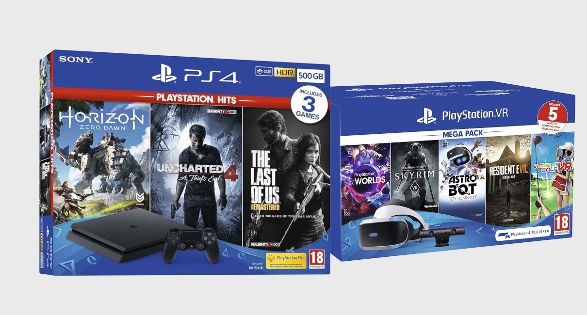 Boxed Playstation 4 and Boxed Playstation VR set