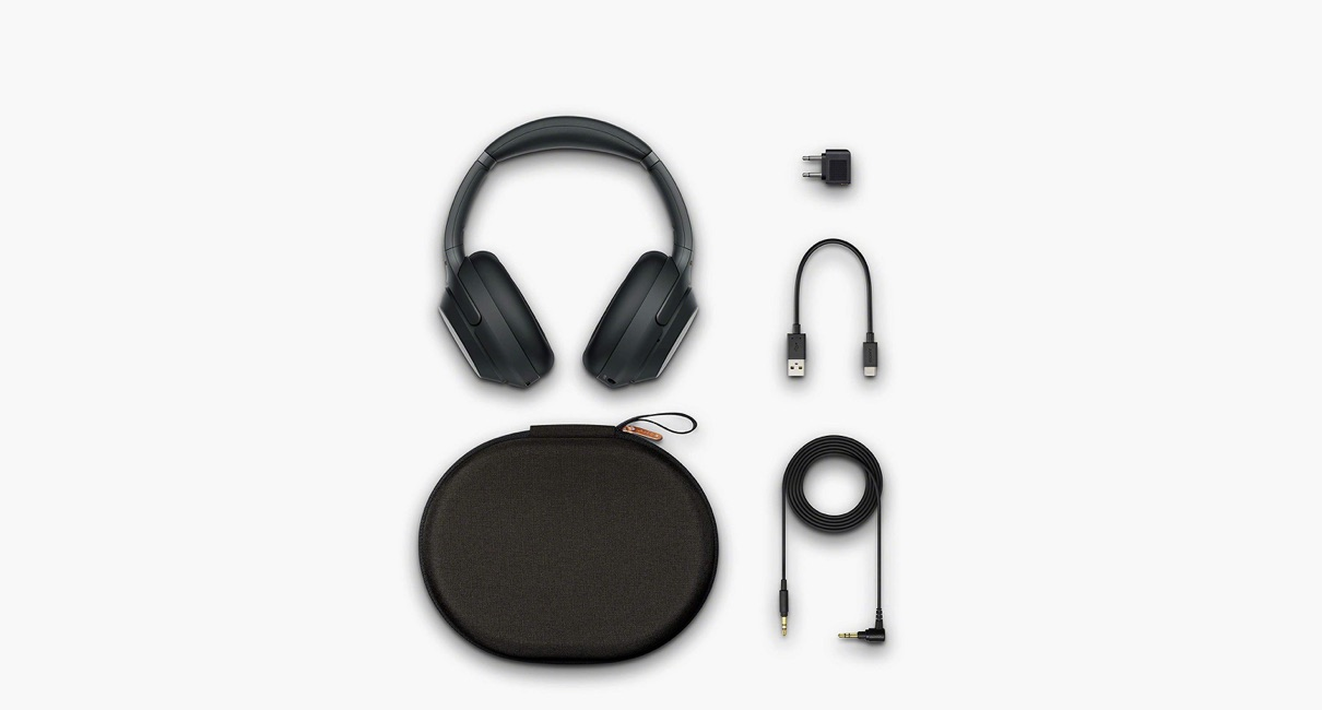 SONY WH-1000XM3 Headphones and accessories