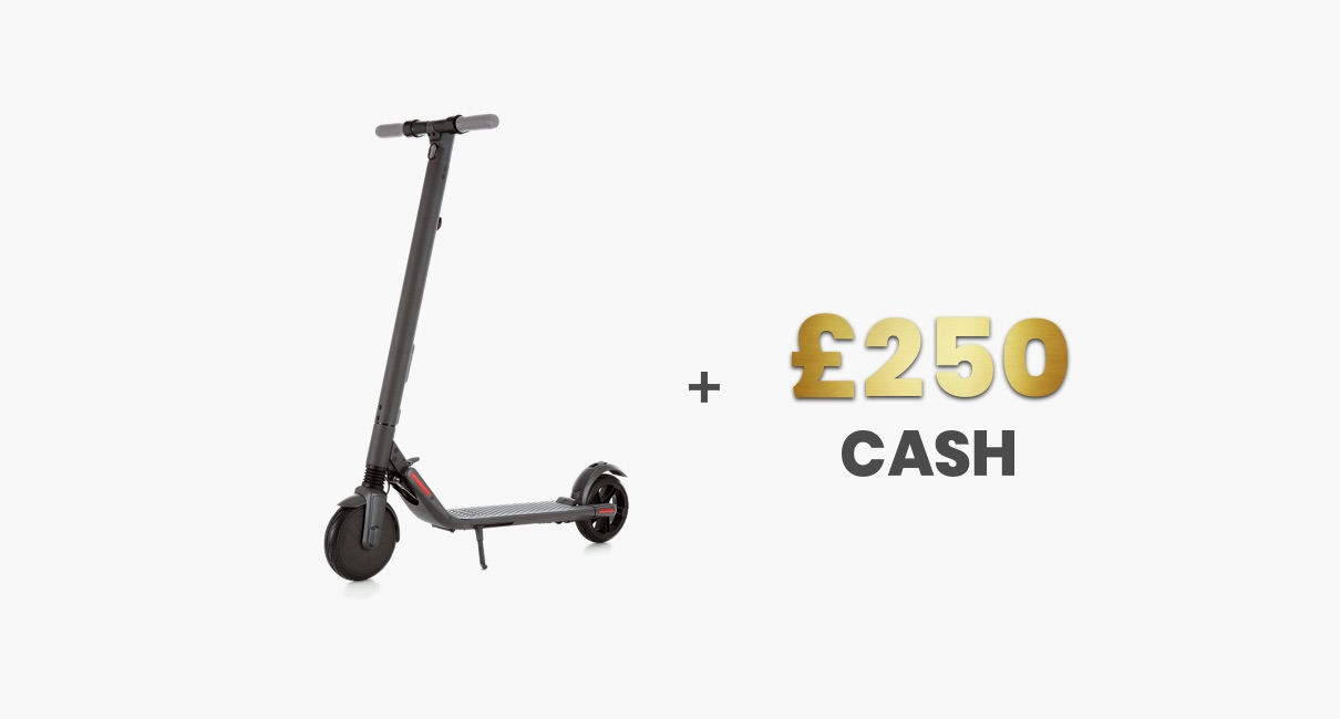 Electric Scooter and £250