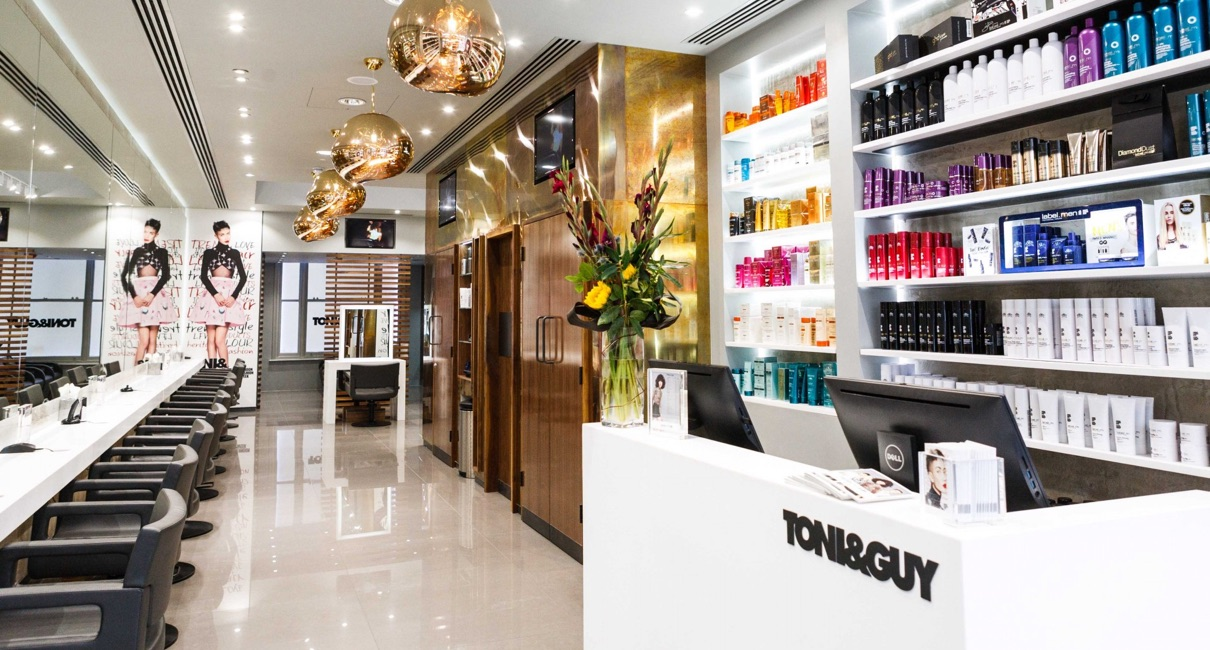 TONI&GUY store Covent Garden