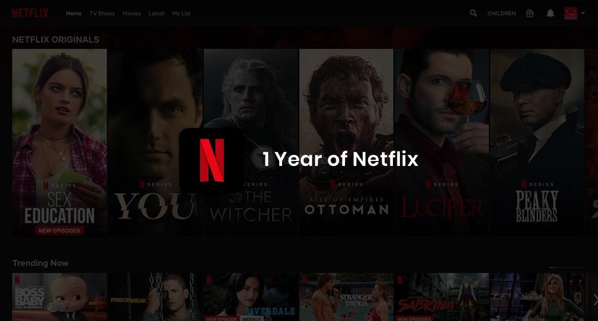 1 Year of Netflix