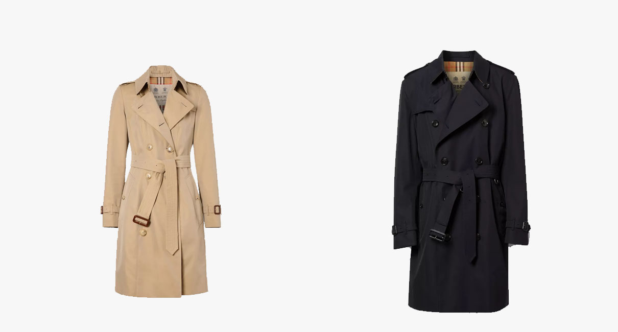 His and Hers Trench Coat