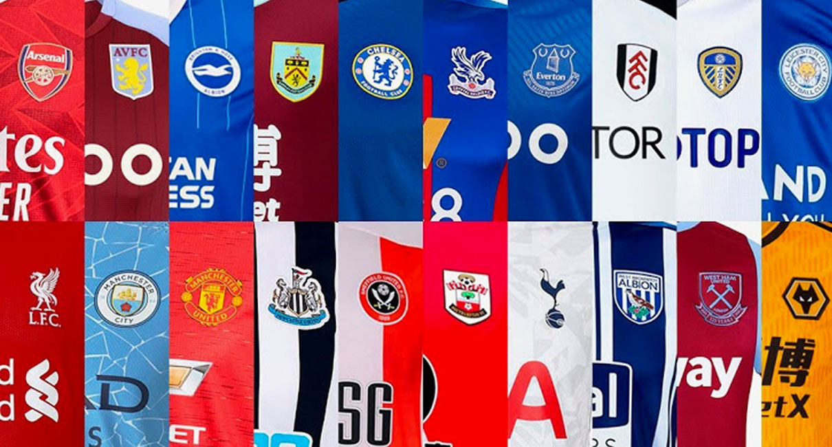 All Premier League Kits