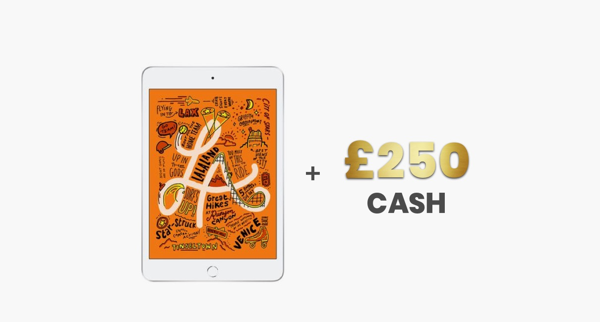 iPad Mini and £250