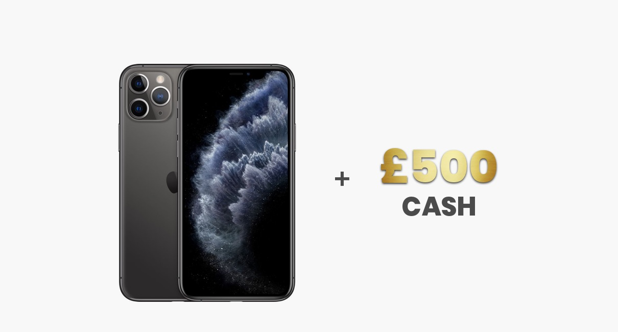 iPhone 11 Pro and £500