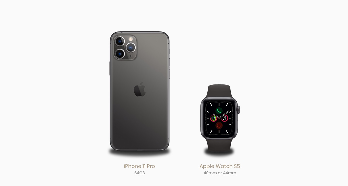 iPhone and Apple Watch