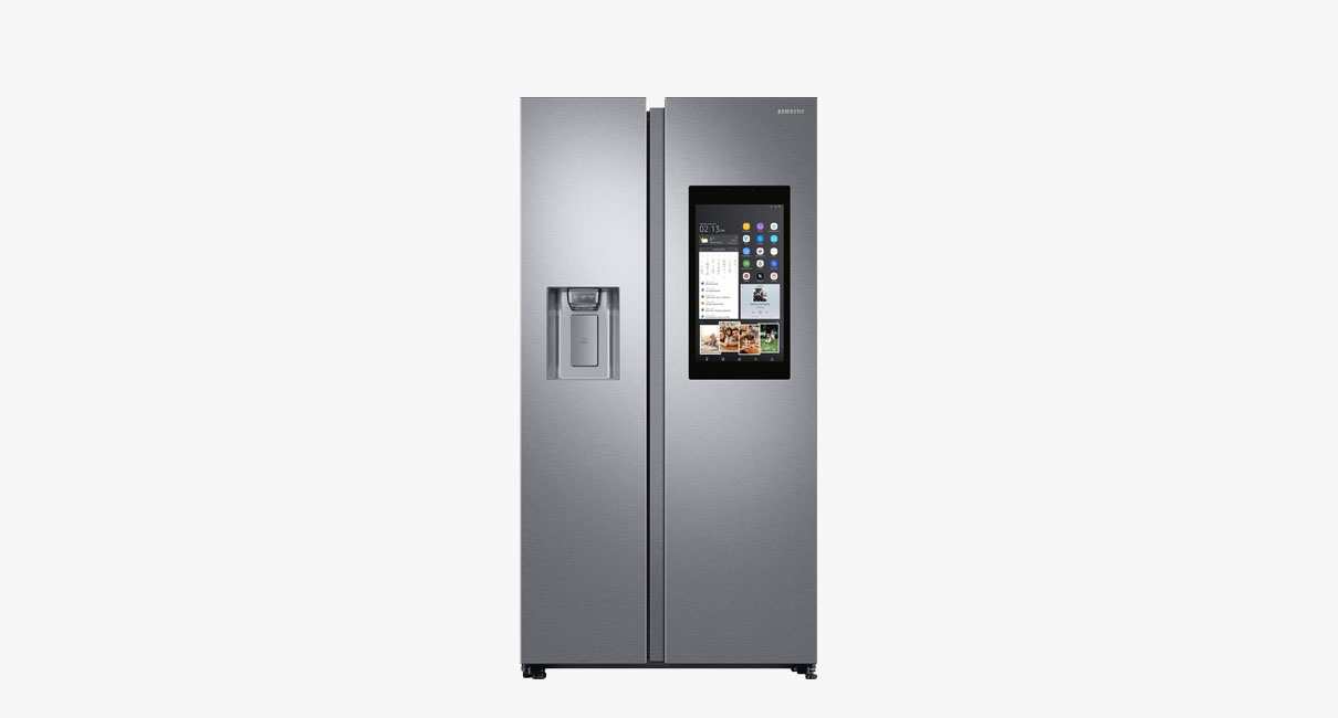 Family Hub™ American Style Fridge Freezer 593L