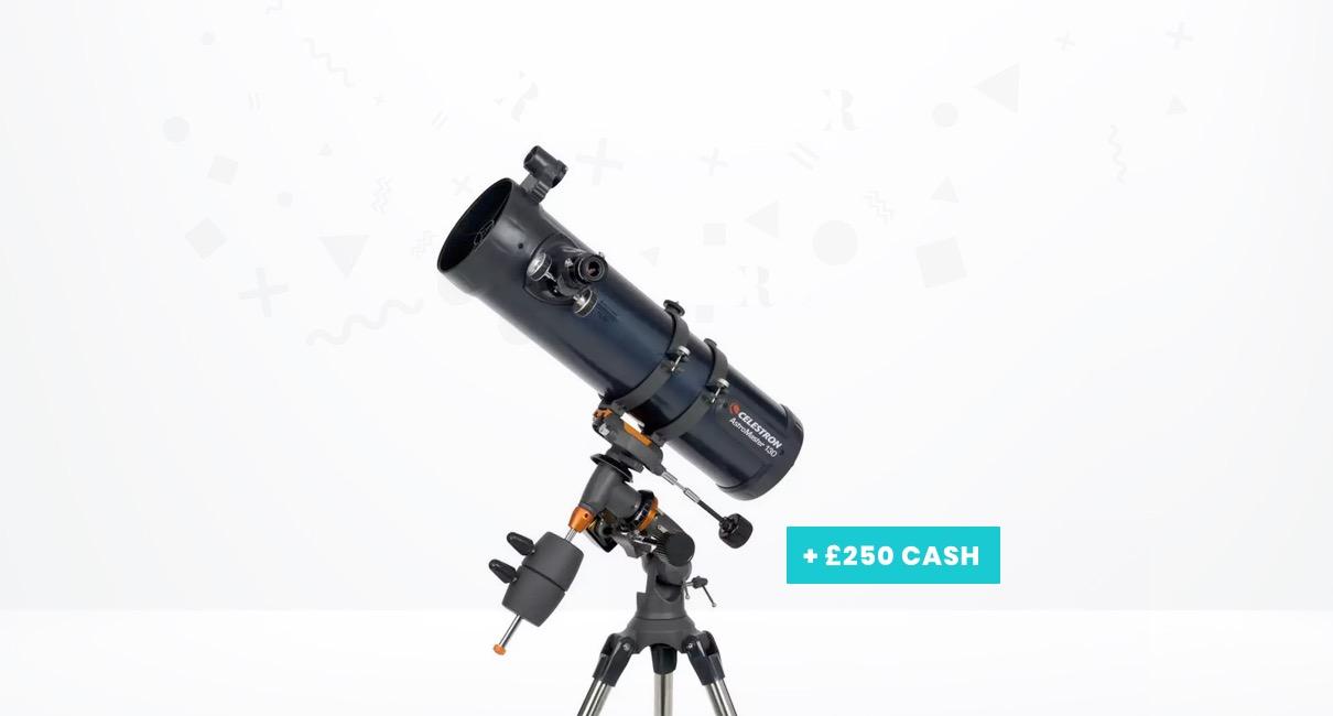 Telescope & £250