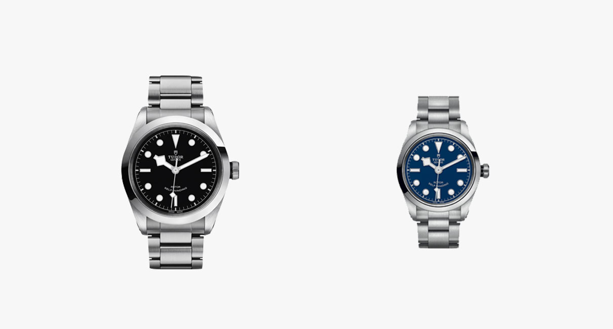 His and hers Tudor watches